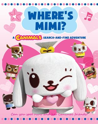 Book cover for Where's Mimi: Canimals Search and Find